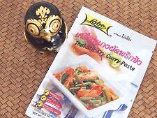 """Authentic Thai Cuisine """"Pad Prik King"""" 60g Medium Stir-Fry Curry Paste No MSG"""