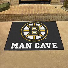 "Boston Bruins Man Cave 34"" x 43"" All Star Area Rug Floor Mat"
