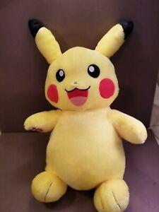 "Build a Bear 16"" Pokemon Pikachu Plush Toy Stuffed Animal BAB"