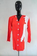Amazing Vintage 80/90s JACKET  Red/White UK 14 EU 42   Silhouette       488 G