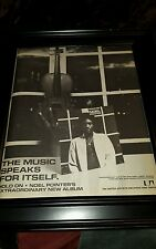 Noel Pointer Hold On Rare Original Classic Promo Poster Ad Framed!