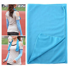 New Summer Ice Cold Cool Towel Scarf Reuseable Cycling Jogging Sports Golf
