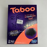 TABOO: The Game of Unspeakable Fun 2013 Hasbro Gaming Board Game Ages 13+ NEW
