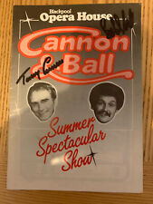 More details for cannon and ball blackpool summer show vintage programme signed