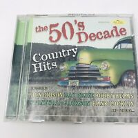The 50's Decade Country Hits CD Media St Clair Entertainment Country Music