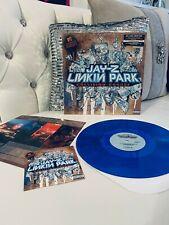 Jay-Z Linkin Park • Collision Course • BLUE Vinyl (LP) • Original Shrink • DVD