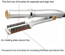 Instyler Rotating Hot Iron Hair Straightener Brush with Bag and clips
