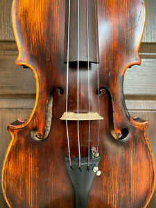 Fine, old, antique 4/4 labelled violin - READY TO PLAY!