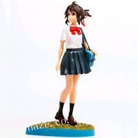 Anime Your Name Mitsuha Miyamizu PVC Action Figure Figurine Toy Collectible