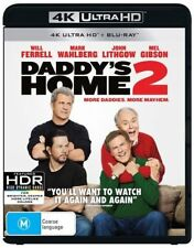 Daddy's Home 2 4K(Blu-ray, 2018, 2-Disc Set) Brand New & Sealed
