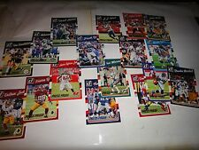 "2016 DONRUSS FOOTBALL ""PRESS PROOF CARDS""==PICK 15 FROM LISTING"