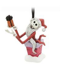 NIB Disney Nightmare Before Christmas Sandy Claws Jack Skellington Ornament