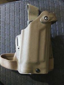 Safariland 6005 Holster RH  Beretta 92F 96 M9 Tan drop leg M3 M6 light