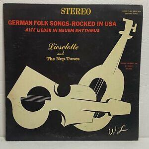 German Folk Songs - Rocked In USA: Request 1967 LP w Lyricsheet in German