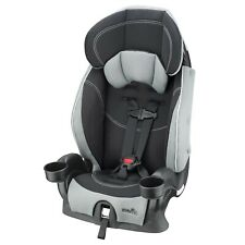Toddler Harnessed Booster Adjustable Car Seat Side Impact Tested w/ 2 Cup Holder