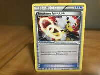 Pokemon Card Trainer Ampharos Spirit Link 70/98 Ancient Origins Good Condition!