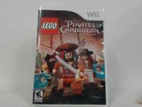 LEGO PIRATES OF THE CARIBBEAN: THE VIDEO GAME Wii Complete CIB Good