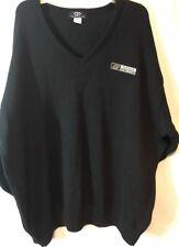 Purdue University Black V-Neck Men's Sweater - NWT 3XL