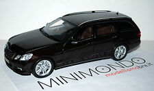 MERCEDES BENZ E-CLASS ESTATE AVANGARDE MARRONE BROWN 1/18 MINICHAMPS B66962440
