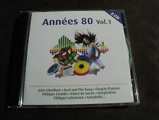 "COFFRET 2 CD ""ANNEES 80 - VOLUME 1"" Les Coco Girls, Sinitta, Philippe CATALDO, ."