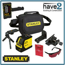 STANLEY FatMax SCL-D BEAM Self-Levelling Cross Line Laser Kit with Plumb