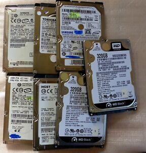 """HDD Disque dur SATA - 2""""5 - 120Go... 320Go, 500Go, 750Go, 1 To, 2 To PC portable"""