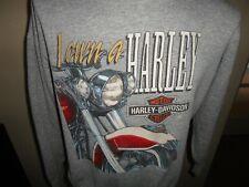 Vtg 90's Harley Davidson I own a Harley Edison Nj Crew Sweatshirt Fits Adult L