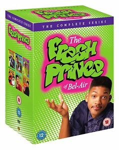 The FRESH PRINCE OF BEL AIR COMPLETE SERIES SEASONS 1+2+3+4+5+6 DVD NEW & SEALED