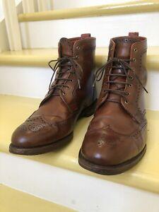 Allen Edmonds Men's Dalton Boot, Coffee, Size 11 EEE 3E