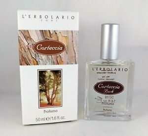 L'Erbolario Perfume Bark 1.7oz Man Parfum Spicy Caldo Legnoso Green