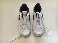 Nwob United States Polo Association White Leather Youth Tennis Shoes 4 1/2