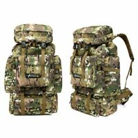New Men's Tactical Military Backpack Mountaineering Travel Outdoor Sport Bag 70L