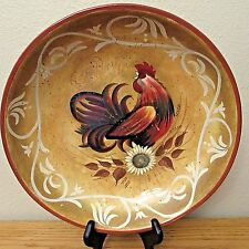Lille Rooster by Geoffrey Allen Certified International Serving Bowl
