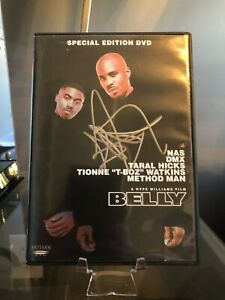 DMX Hand Signed Autographed Belly DVD Movie Earl Simmons Rapper PROOF LOOK Album
