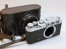 AS IS FED 35mm Rangefinder Film Camera USSR Soviet Union