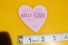 Billabong Billy Girls Pink Heart Surfboards Vintage Surfing Decal STICKER