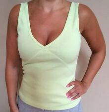 Rebecca Beeson Women's Tank Top V Neck Shirt Size 2 Perfect Summer Color