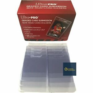 Ultra PRO Graded Submission Semi-Rigid Card Sleeves (10 Pack) Card Saver