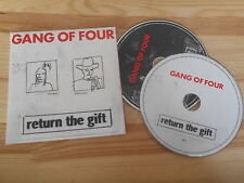CD Punk Gang Of Four - Return The Gift 2Disc (26 Song) Promo V2 REC