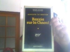 Auguste le Breton pour  Razzia sur la chnouf