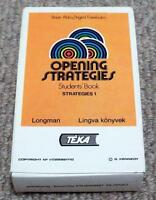 Brian Abbs / Ingrid Freebairn Opening Strategies 1990 Playing Cards Game
