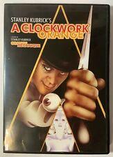 Stanley Kubrick's A Clockwork Orange DVD Movie Region 1 Warner Bros