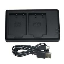 ✮DSTE BC-W126 DUAL CHARGER for Fuji-Fujifilm NP-W126s Battery X-T2 X-T1 X-H1 etc