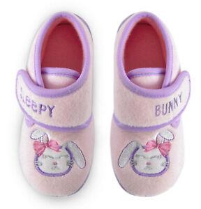Sleepy Bunny Toddler Girls Slippers