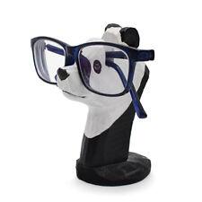 Glasses Holder Stand Panda Wood Carving Eyeglasses Display Stand Rack Figurine