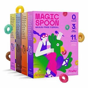 Magic Spoon Cereal - High Protein, Low Carb, Zero Sugar, Gluten & Grain Free, No