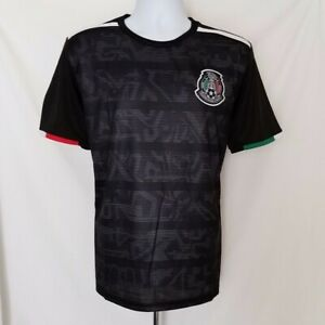 Men's 2019 Mexico National Soccer Team Black Generic Jersey