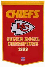 Kansas City Chiefs Super Bowl Banner Dynasty Championship Pennant Flag