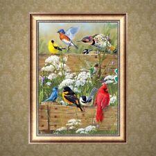 DIY 5D Diamond Embroidery Birds Painting Cross Stitch Animal Home Decor Craft