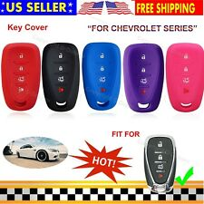 Silicone Cover Entry Protector Skin Chevrolet Fob Case for Chevy Camaro Car Key